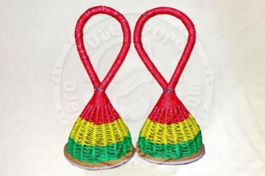 Rasseln / Shaker (2 Stück) - Guinea
