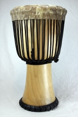 beginner djembe from Guinea - XXL with rubber bottom