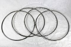 6mm Edelstahlringe