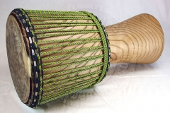 Sustainable hardwood djembe XXL