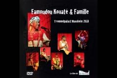 Famoudou Konaté und Familie