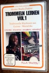 Bouba Diakité - Trommeln lernen Vol. 1
