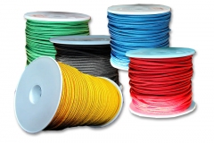Polyesterschnur PES 100m-Spulen, versch. Farben u. Durchmesser