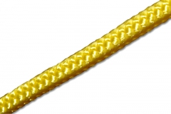 Polyester PES rope yellow