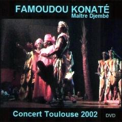 Famoudou Konaté - Concert Toulouse 2002