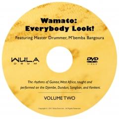 WULA drum - Wamato: Everybody Look - Vol. 2