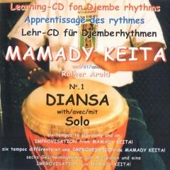 Mamady Keita - Lehr CD - Diansa