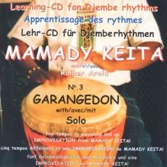 Mamady Keita - Lehr CD - Garangedon