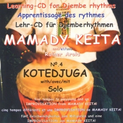Mamady Keita - Lehr CD - Kotedjuga