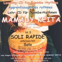 Mamady Keita - Lehr CD - Soli