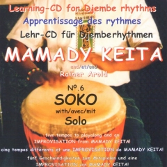 Mamady Keita - Lehr CD - Soko