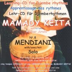 Mamady Keita - Lehr CD - Mendiani