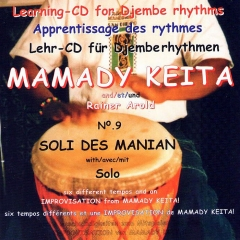Mamady Keita - Lehr CD - Soli des Manian
