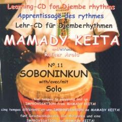 Mamady Keita - Lehr CD - Soboninkun