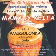 Mamady Keita - Lehr CD - Wassolonka