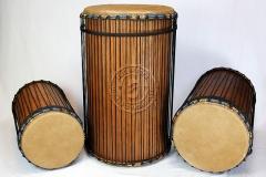 Lenke Basstrommeln - Kenkeni, Sangban, Dundunba