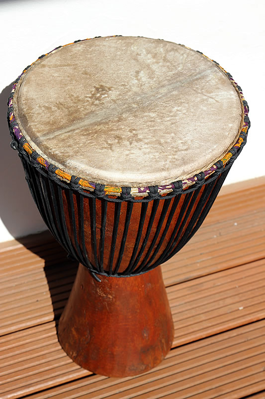 traditionelle Duguradjembe Senegal